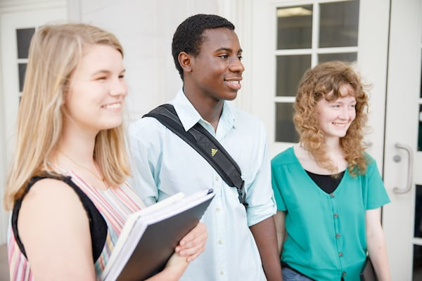 High school students visit Russell Hall