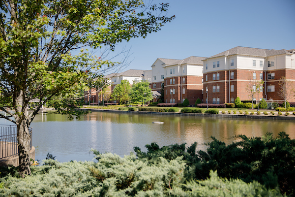 The Lakeside residential community.