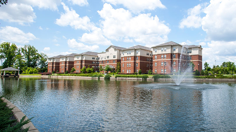 The Lakeside student housing complex