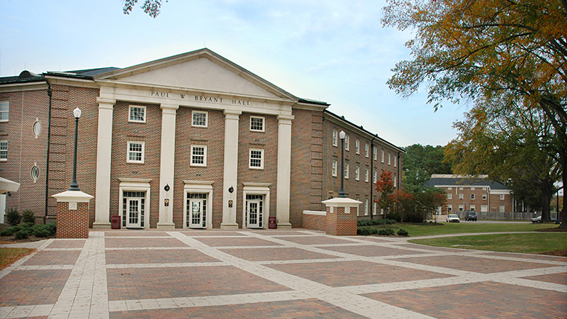 Campus Map The University Of Alabama