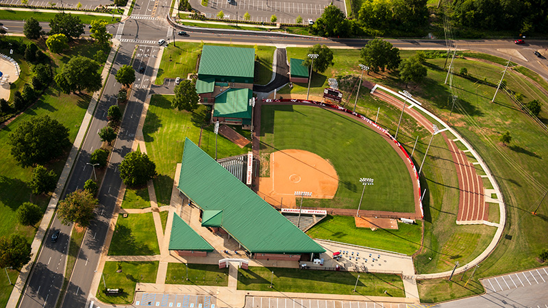John and Ann Rhoads Softball Stadium