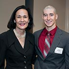 Dr. Cathy Randall and Justin Magrath