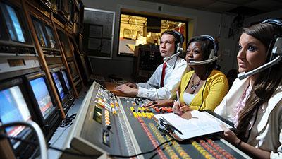 Communications students